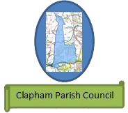 Clapham Parish Council logo